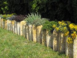 Beültethető sziklás kertszegély (545)