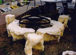 Szalonnasütő - Tufás szék és tufás szalonnasütő - Akció, ár, árak, árlista